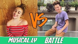 The Best Baby Ariel VS Jacob Sartorius Musical.ly Compilation 2016   Battle Musers