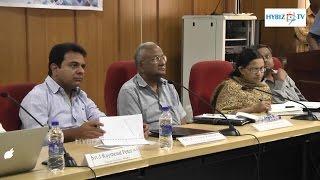 KTR Meeting with TSIPARD Hyderabad - Hybiz.tv