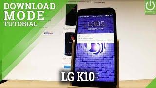 How to Enter Download Mode LG K10 (2017) - Exit LG Download
