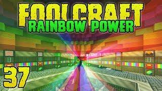 FoolCraft Modded Minecraft 37 Rainbow Generator Activate!