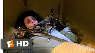 Edward Scissorhands (1/5) Movie CLIP - Edward Frightens Kim (1990) HD