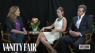 Colin Firth & Emily Blunt Talk to Vanity Fair's Krista Smith About the Movie