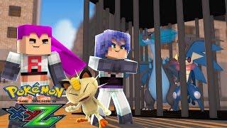 Minecraft: Pokemon X Y Z - ROUBARAM O GRENINJA E O MEGA CHARIZARD #5