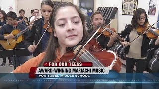 For Our Teens: Student mariachi band