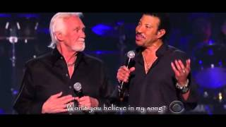 Lionel Richie and Kenny Rogers - Lady
