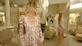 See-Through Wedding Dress Trend Leaves Little to the Imagination