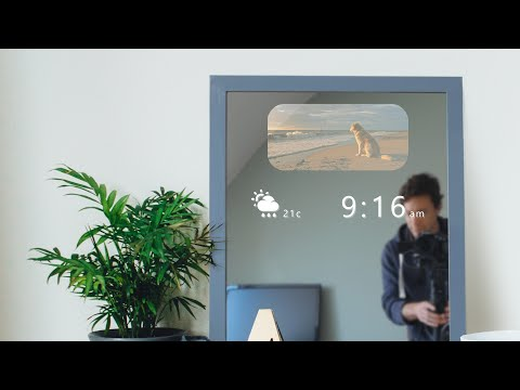 DIY Smart Mirror that doesn t steam up