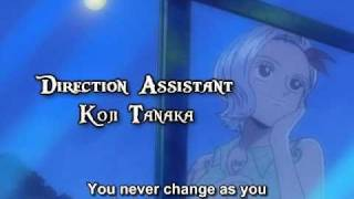 One Piece ED 12 - Tsuki to Taiyou (FUNimation English Dub, Sung by Stephanie Young, Subtitled)