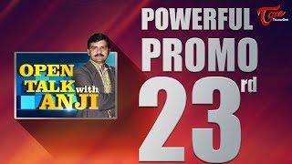 Open Talk with Anji   #23rd Promo   #TeluguInterviews