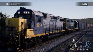 DTG Train Sim World: CSX Heavy Haul, intel i5-8400, GTX 1080 Ultra Settings