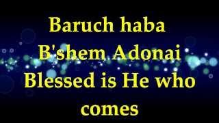 Paul Wilbur - Baruch Haba B
