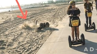 SEGWAY BEACH ACCIDENT