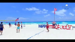 4th of July at Secrets The Vine Cancun