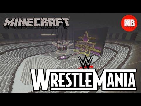 WWE: Wrestlemania 30 (XXX) Arena in Minecraft!