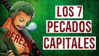 ¡LOS 7 PECADOS CAPITALES EN ONE PIECE! - #ONEPIECE - LUFFY NO MI