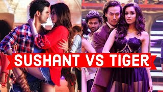 Sushant Singh Rajput Vs Tiger Shroff - Which Song Must Go ?