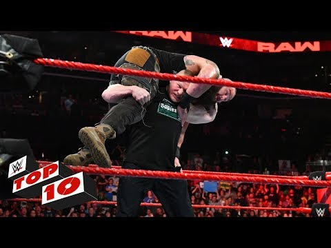 Xxx Mp4 Top 10 Raw Moments WWE Top 10 October 29 2018 3gp Sex
