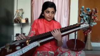 Bahubali music notes amazingly performed by veena srivani | Must watch this video .