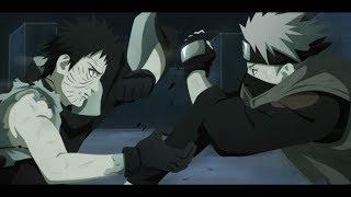 Kakashi vs Obito vf (français) HD 1080p