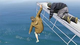 GTA 5 Water ragdolls/fails compilation vol.14 [Euphoria physics | Funny Moments]