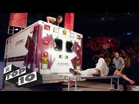 Ambulance attacks WWE Top 10