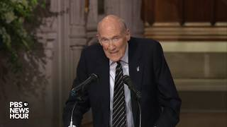 WATCH: George H.W. Bush was a class act from birth to death, says former Sen. Alan Simpson