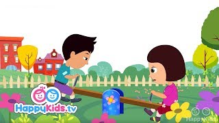 See Saw Margery Daw - Nursery Rhymes For Kids And Children