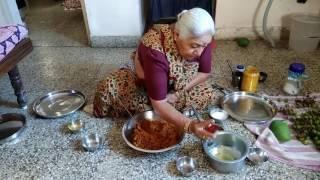 Nani's recipe of Gunda nu aachar (Lasura's Aachar)