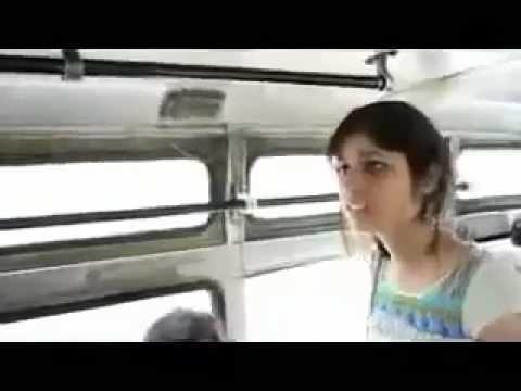 Boy Slaps a Girl (Bus)