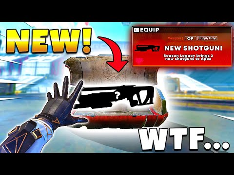 BROKEN 2 NEW SHOTGUNS IN LEGACY IS INSANE NEW Apex Legends Funny & Epic Moments 634