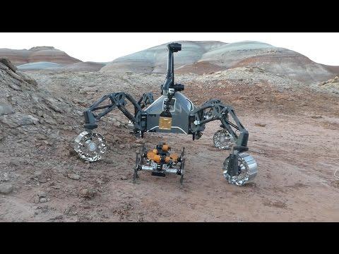 Field Trials Utah Robot team simulates Mars mission in Utah
