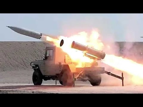 Iran Unveils New Rocket Launcher, Heavy