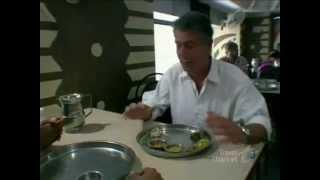 Anthony Bourdain visits Natraj Hotel in Udaipur, Rajasthan.