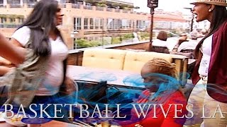 Basketball Wives LA Girlfight: Malaysia Vs. Laura