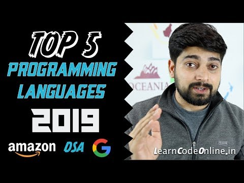 Xxx Mp4 Top 5 Programming Language In 2019 With Learning Paths 3gp Sex