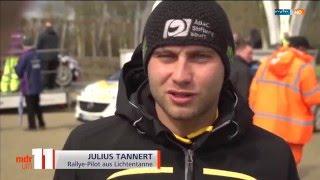 Bericht MDR um 11 - Julius Tannert - 12. April 2016
