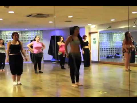 BELLY DANCE LESSON WORK OUT FULL BELLY DANCING