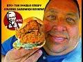 KFC® The Double Crispy Colonel Sandwich Review!