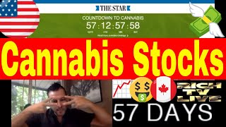 Cannabis Stocks Explode with Legalization in Canada 57 Days Away