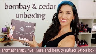 Bombay & Cedar Unboxing January 2018 | aromatherapy, wellness, and beauty subscription box