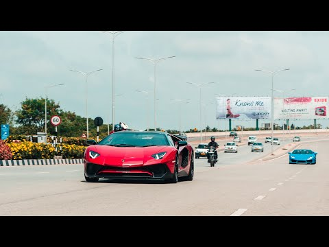 Xxx Mp4 15 Lamborghini S Insane FLYBY On Airport Road BANGALORE INDIA 3gp Sex