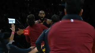 LeBron James Hits Amazing Game-Winning Buzzer Beater VS Pacers!