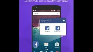 تطبيق يمكنك من تصفح الفايسبوك بحسابين في هاتفك الاندرويد 2016