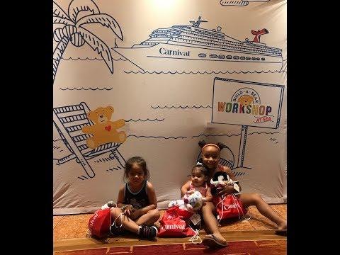 Cruise Vlog⎮8/22/17⎮~Cruise Day 2! Fun Day at Sea!!~