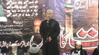 Asif Ansari  ( INTERNATIONAL SHAHADAT CONFERENCE MAKKI MASJID BROOKLYN NEW YORK 11/08/14