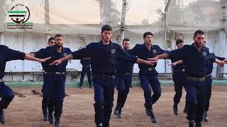 تخريج الدفعة الرابعة من الشرطة المدنية في ريف دمشق (مدرسةالشرطة)