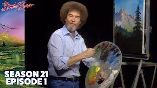 Bob Ross - Valley View (Season 21 Episode 1)