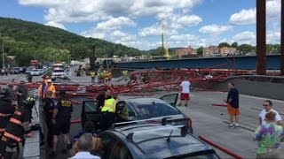 Tappan Zee Bridge Crane Collapse Injures 5 People