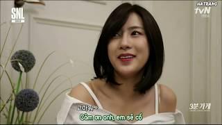[Vietsub] Hayoung - Bạn gái 3 phút (Apink - SNL Korea cut) - Cô gái yếu ớt