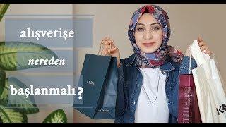 Yeni Kapananlar İçin Alışverişe Nereden Başlanmalı ?| Hijab Fashion